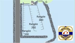 Marina de Portneuf - Plan des quais